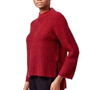Rachel Rachel Roy High Low Mock Neck Sweater NWT